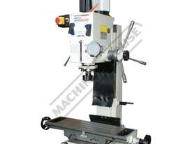 HM-46 Mill Drill - Geared & Tilting Head (X) 475mm (Y) 195mm (Z) 450mm Dovetail Column - picture19' - Click to enlarge