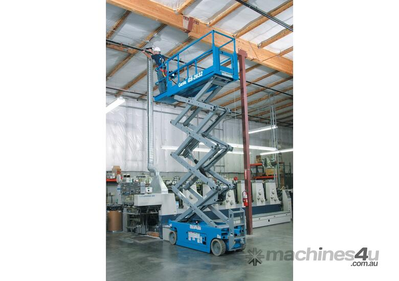 Genie GS2632 26 foot Narrow Scissor Lift