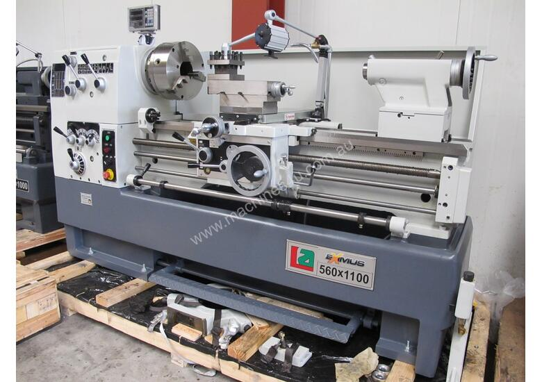 � 460mm Swing Centre Lathe, 80mm Spindle Bore, 1.1m BC