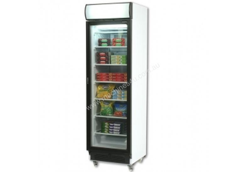 Bromic UF0374S LED Flat Glass Door LED Display Freezer - 300 Litre