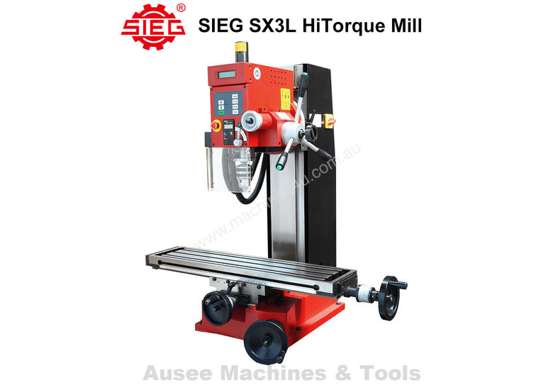 SIEG SX3L HiTorque Mill 1000W Brushless Motor