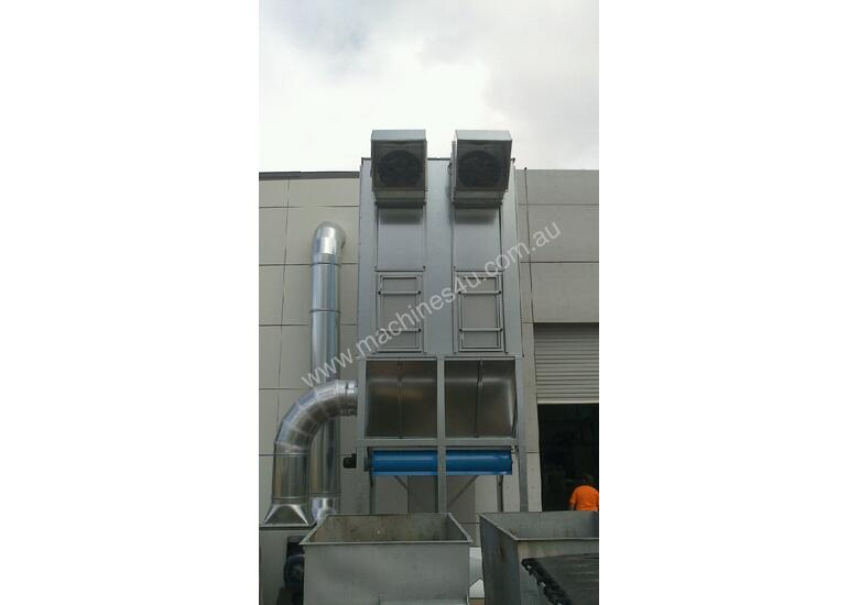 Dust Extraction Reverse Flow Filter Units ASF_DAKXL (ATEX Certified)