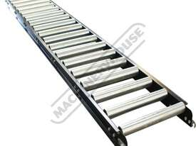 RC-450 Roller Conveyor 450 x 3000mm Ø50mm Rollers - picture0' - Click to enlarge
