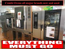 Secondhand Combi Ovens - All major brands - Sale