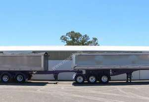 2008 HERCULES B DOUBLE TIPPERS Tipper Trailers