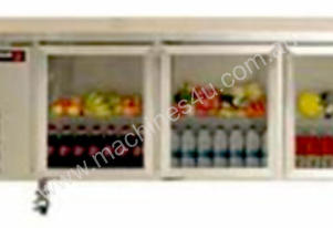 FAGOR 3 Glass Door SS Top Refrigerated Counter MGCR-210SGD