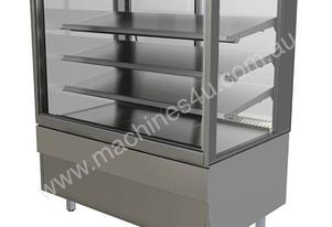 FPG 4C08-SQ-FF 4000 Series Refrigerated Integral Square Display Cabinet -Fixed Front - 800mm