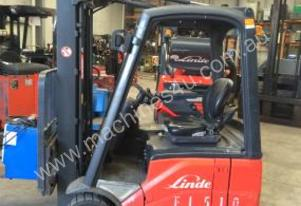 LINDE , E14C CONTAINER MAST ELECTRIC FORKLIFT , 20