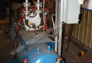 5.5KW liquid ring vacuum pump system with tank and