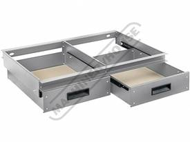RSS-2D 2 x Slide Out Drawer System - Suits Industr
