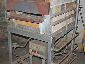Gas Fired Furnace Oven blacksmiths Forge Kiln 600  - picture1' - Click to enlarge