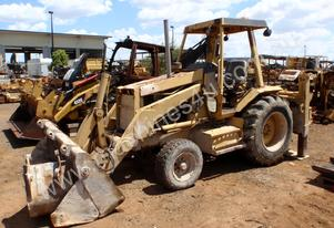 Caterpillar 428 II Backhoe Dismantling