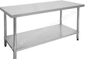 F.E.D. 1500-7-WB Economic 304 Grade Stainless Steel Table 1500x700x900