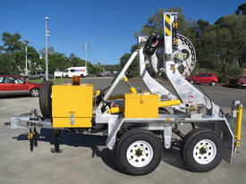 3.5 Tonne Self Loading Cable Trailer  - picture0' - Click to enlarge
