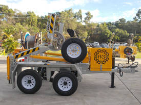 3.5 Tonne Self Loading Cable Trailer  - picture1' - Click to enlarge