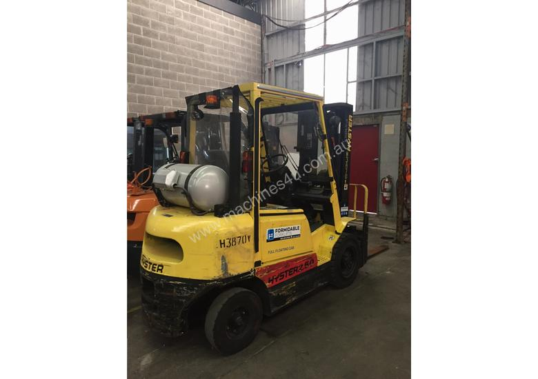 Used Hyster 2.50DX LPG forklift