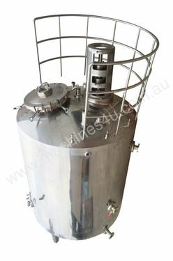 3,000Ltr S/S Jacketed Tank with Stirrer