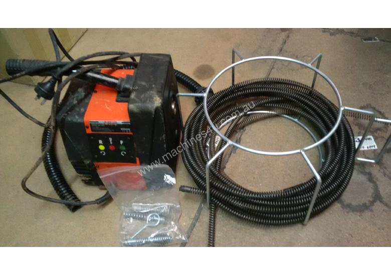 Plumbers Drain cleaning machine, auger type