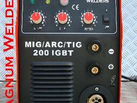 Magnum Welders Mig/Arc/DC Tig 200amp 4in1 Gassed & Gasless Welder $900 - picture2' - Click to enlarge