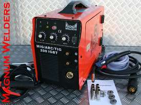 Magnum Welders Mig/Arc/DC Tig 200amp 4in1 Gassed & Gasless Welder $900 - picture0' - Click to enlarge