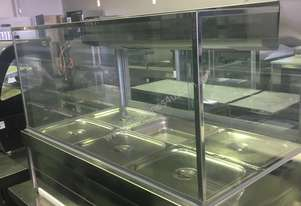 Roband Square Glass Hot Food Bar S23