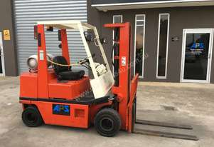 Nissan CONTAINER SIDE SHIFT FORKLIFT