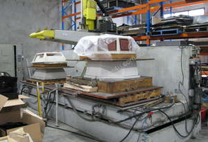 2 x CNC 5-Axis Router Machines