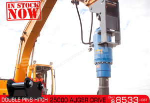 25000 MAX Auger Drive Unit. Suit 15 - 22 T Excavators ATTAGT