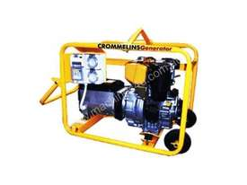 Crommelins 5.6kVA Generator Worksite Approved - picture1' - Click to enlarge