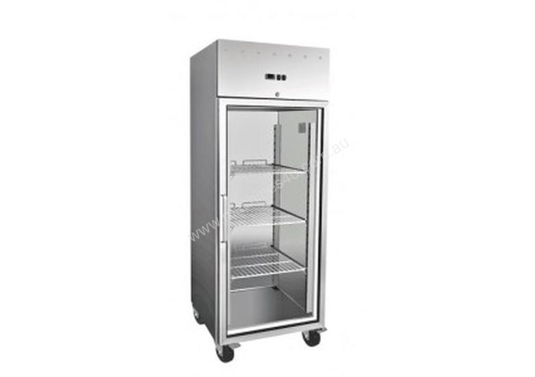 EXQUISITE - GSC650G - COMMERCIAL KITCHEN UPRIGHT GASTRONORM CHILLERS WITH GLASS DOORS