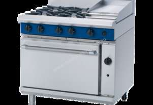 Blue Seal Evolution Series G506C - 900mm Gas Range Static Oven