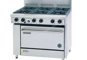 Goldstein 4 Burner Gas Top with Electric High Speed Oven