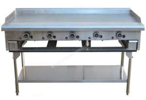 LKKTG15 5 Burner Gas Teppan Griddle