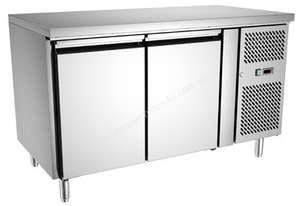 Exquisite USC260H Two Door Underbench Fridge