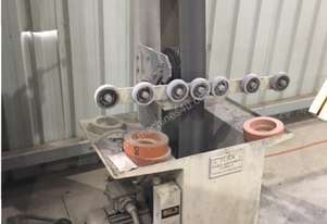 Belt Sander. Used for Glass and Alluminum.