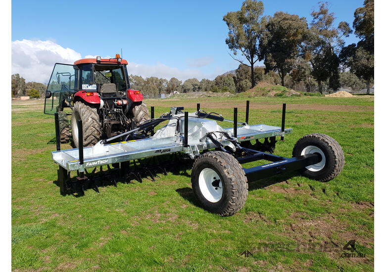 2019 FARMTECH AERVATOR GH5004 CTF (TRAILING, FOLDING, 5.0M)