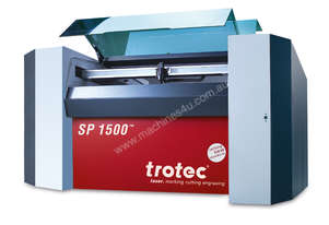 Highly productive laser cutter for large format material.