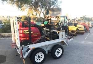 DINGO K9-5 MINI LOADER WITH ALL ATTACHMENTS AND TRAILER PACKAGE - 095