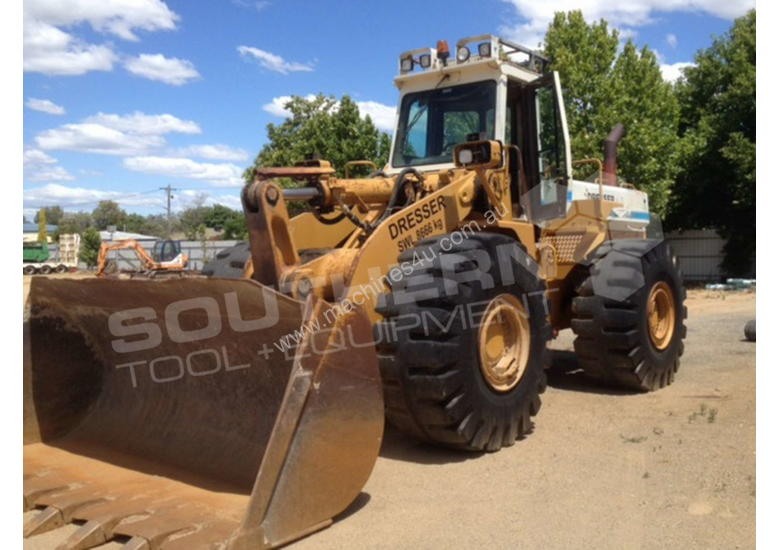 Dresser 555 wheel loader MACHWL
