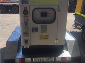 15KVA Generator on Twin Axle Trailer - picture1' - Click to enlarge
