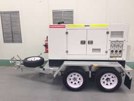 15KVA Generator on Twin Axle Trailer - picture2' - Click to enlarge