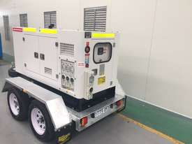 15KVA Generator on Twin Axle Trailer - picture3' - Click to enlarge