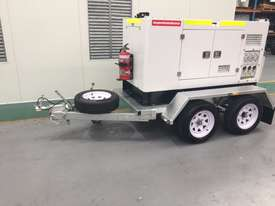 15KVA Generator on Twin Axle Trailer - picture4' - Click to enlarge