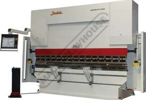 APHS-41160 Hydraulic CNC Pressbrake 160T x 4100mm, 5 Axis, Delem DA58T Touch Screen Control Includes