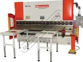 APHS-41160 Hydraulic CNC Pressbrake 160T x 4100mm, 5 Axis, Delem DA58T Touch Screen Control Includes - picture17' - Click to enlarge