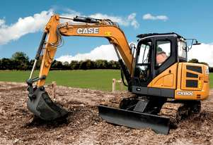 CASE CX80C MSR (SWING BOOM) MIDI-EXCAVATORS