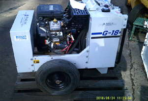 G-18 18hp V2 hydraulic power pack 5 and 10 GPM at 2200psi , 99 hrs ,