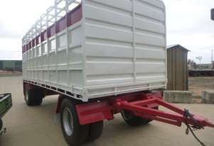 Wese Western Dog Stock/Crate Trailer