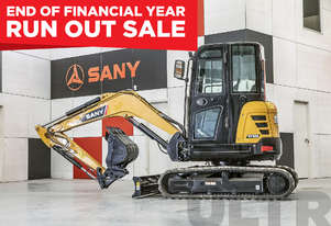 Sany SY35U 3.8T Mini Excavator - ON SALE