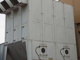 Large Reverse-Air Dust Extractor and Fan, 33,000 m3/hr, Fully Functional - picture1' - Click to enlarge